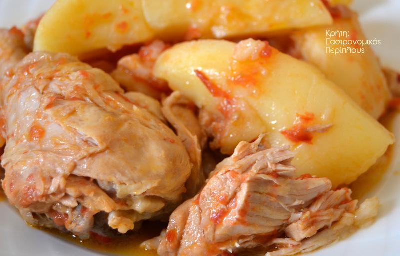 Παταταλίδικο αλλά με τι πατάτες (κοτόπουλο με πατάτες μπλουμ) !