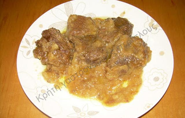 Λεμονάτο μοσχάρι ή βοδινό