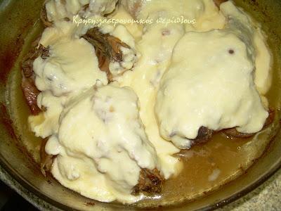 Κουνέλι ή κοτόπουλο με γιαούρτι στο φούρνο