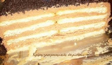 Κτιστό: τούρτα μπισκότου (VIDEO)