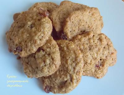 Τα πιο υγιεινά και εύκολα μπισκότα βρώμης