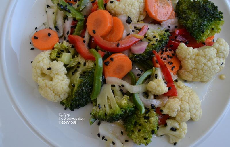 Σαλάτα με ωμά χειμωνιάτικα λαχανικά (VIDEO)