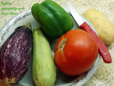 Χόντρος (σπασμένο σιτάρι) με καλοκαιρινά λαχανικά και…