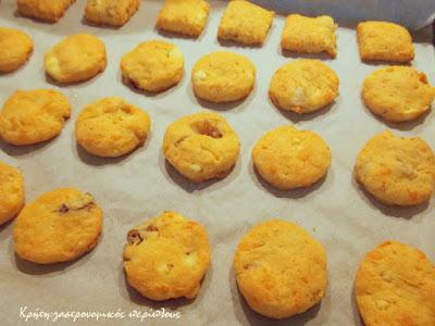 Αλμυρά μπισκότα με απάκι και ξινομυζήθρα