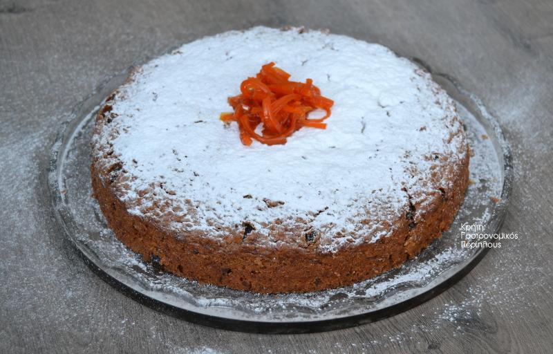 Κέικ καρότου χωρίς αυγά, βούτυρο και μίξερ! (VIDEO)