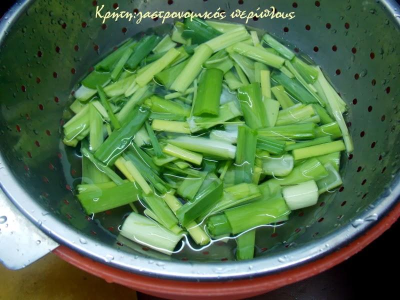 Πρασόρυζο: κεντανές με κερεβίζι και… ρύζι!