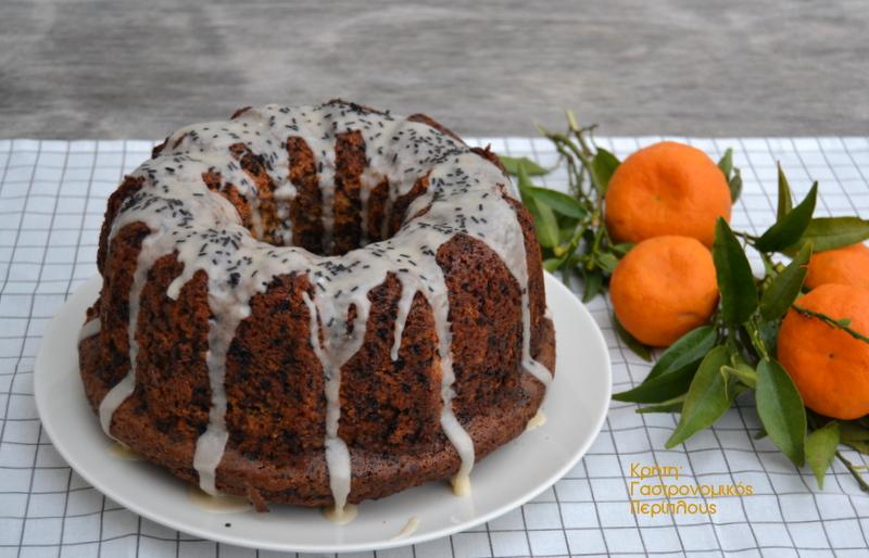 Κέικ μανταρίνι – σοκολάτα με ελαιόλαδο (VIDEO)