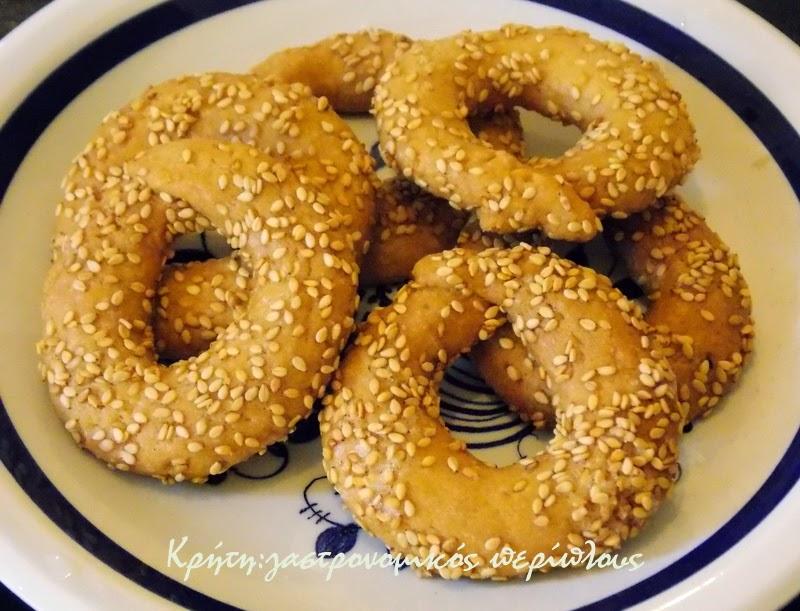 Τραγανά κουλουράκια λεμονιού (νηστίσιμα, με ελαιόλαδο)