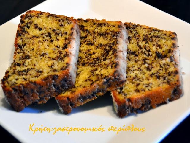 Κέικ γιαουρτιού με καλαμποκάλευρο