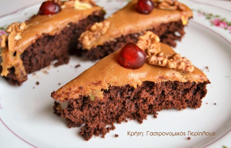 Ένα πολύ σοκολατένιο κέικ!