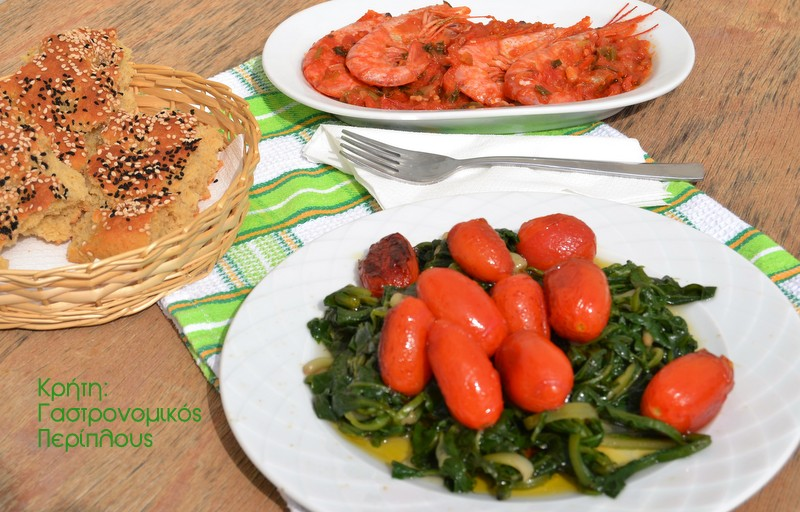 Καραμελωμένα ντοματίνιαμε βαλσάμικο ξίδι ή πετιμέζι