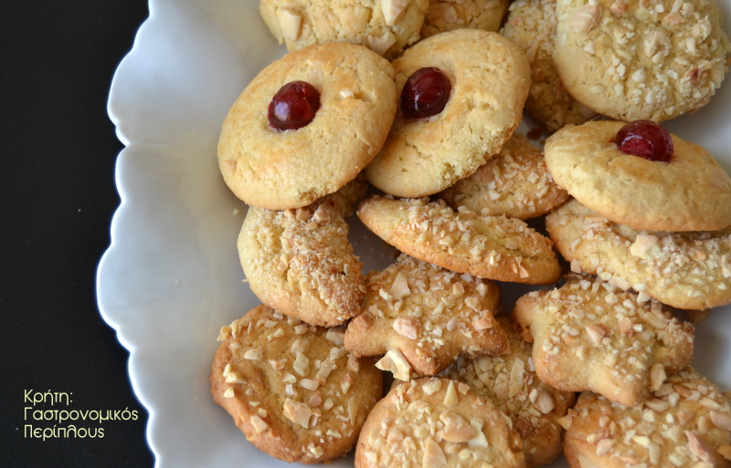 Αμυγδαλωτά μπισκότα από το Βενεράτο Ηρακλείου