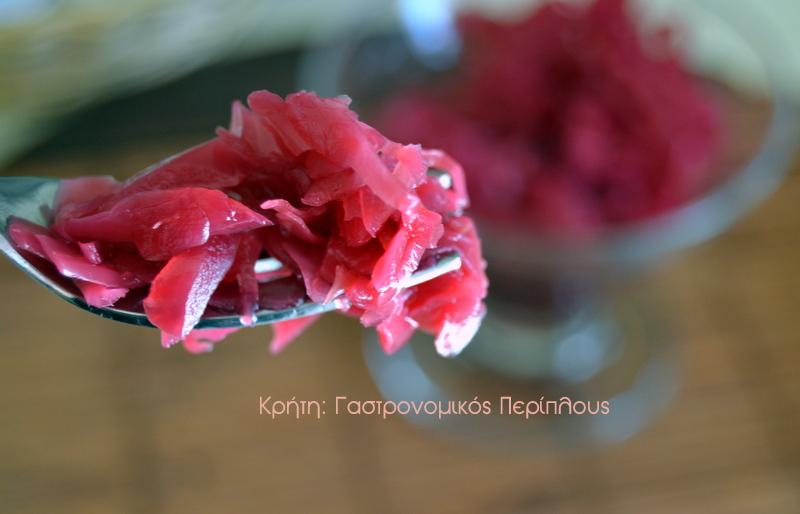 Κόκκινο λάχανο, γλυκόξινο τουρσί