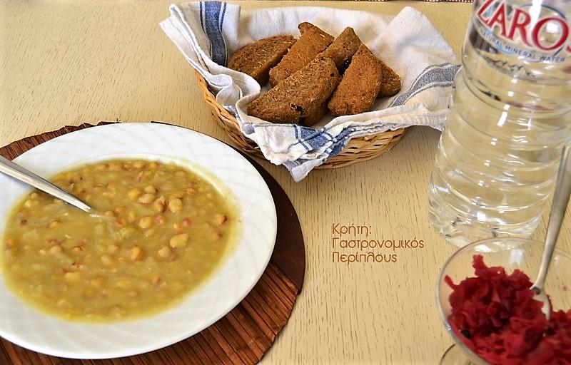 Μπίζα (μαναρόλια) με αλευρολέμονο (ντερμπιέ)