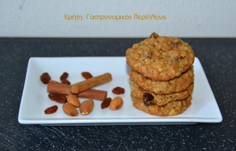 Νηστίσιμα μπισκότα βρώμης