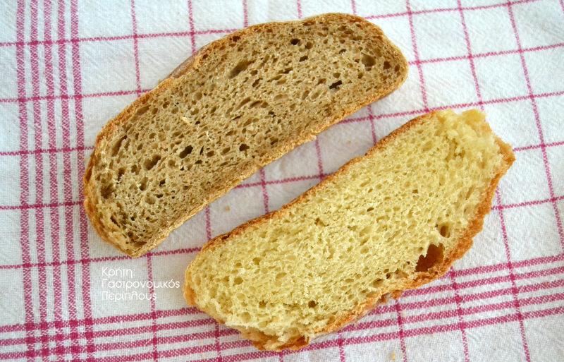 Ψωμί με ζύμη τυριού