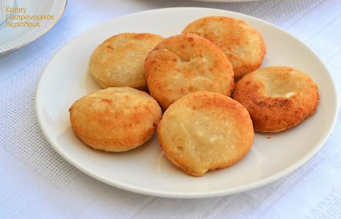 τυροπιτάκια χωρίς φύλλο τηγάνι μενού 41 κολάζ συνταγές cretangastronomy.gr