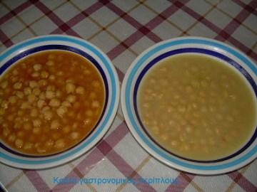 ρεβύθια ρεβίθια λεμόνι ντομάτα μενού 41 κολάζ συνταγές cretangastronomy.gr