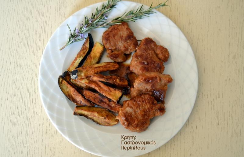 ψαρονέφρι χυμοί εσπεριδοειδών τηγάνι cretangastronomy.gr