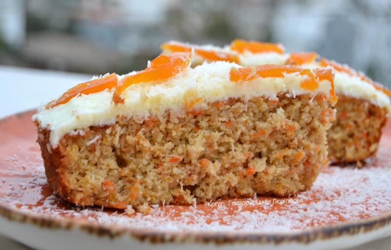 Κέικ καρότου με καρύδα