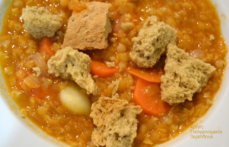 Κόκκινες φακές σούπα με κλασική συνταγή