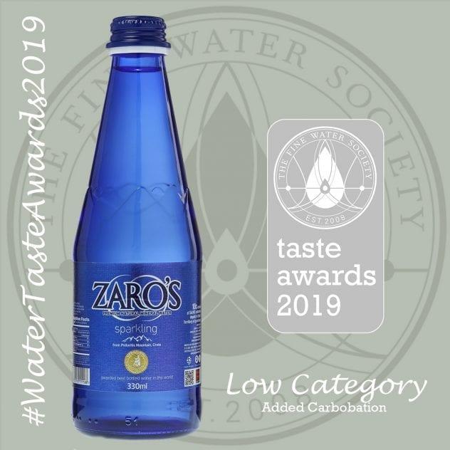Το νερό Ζαρός βραβεύεται παγκοσμίως για μια ακόμα χρονιά!