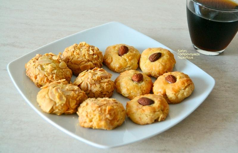 Μπισκότα αμυγδάλου από τη Νεάπολη Λασιθίου