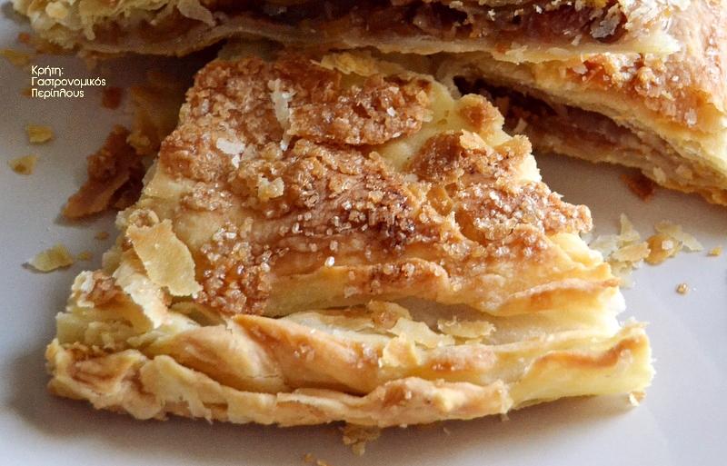 Κολοκυθόπιτα γλυκιά με κίτρινη κολοκύθα και τραγανό σπιτικό φύλλο