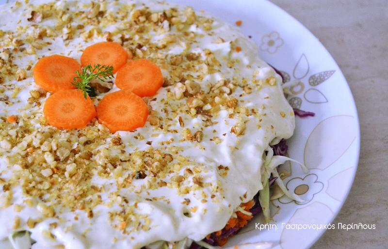 Λαχανοσαλάτα τούρτα