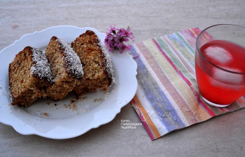 Κέικ μπανάνας με καρύδα, στο multi ή στο μπλέντερ