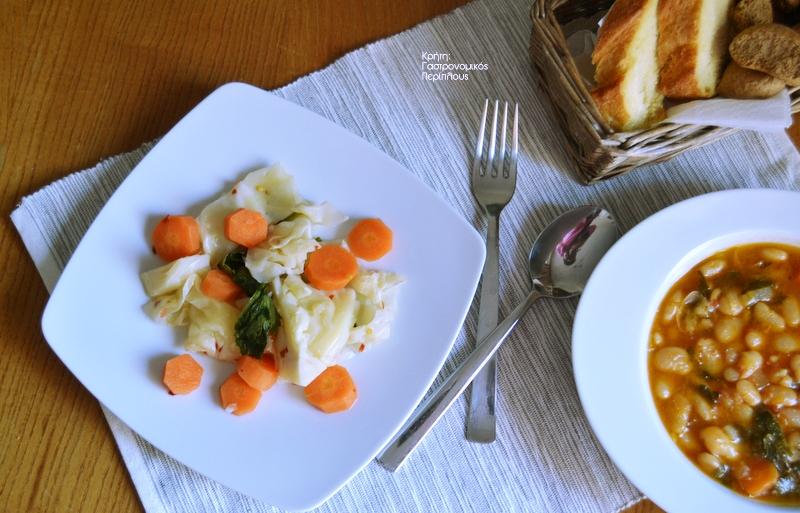 Λάχανο, καρότο και σέλινο τουρσί
