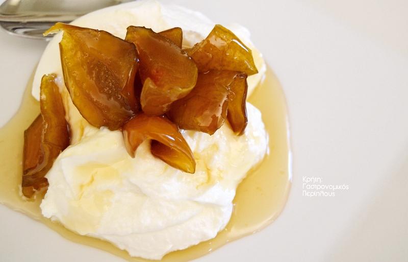 Αχλάδι γλυκό του κουταλιού στον φούρνο