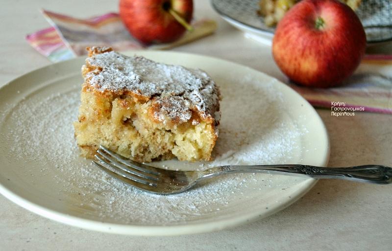 Η πιο εύκολη νόστιμη μηλόπιτα!