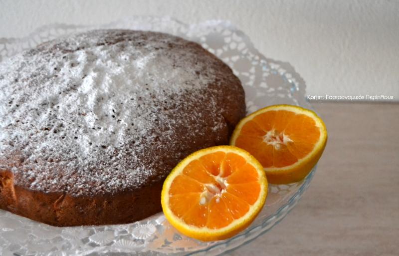 Κλασικό κέικ πορτοκαλιού (VIDEO)