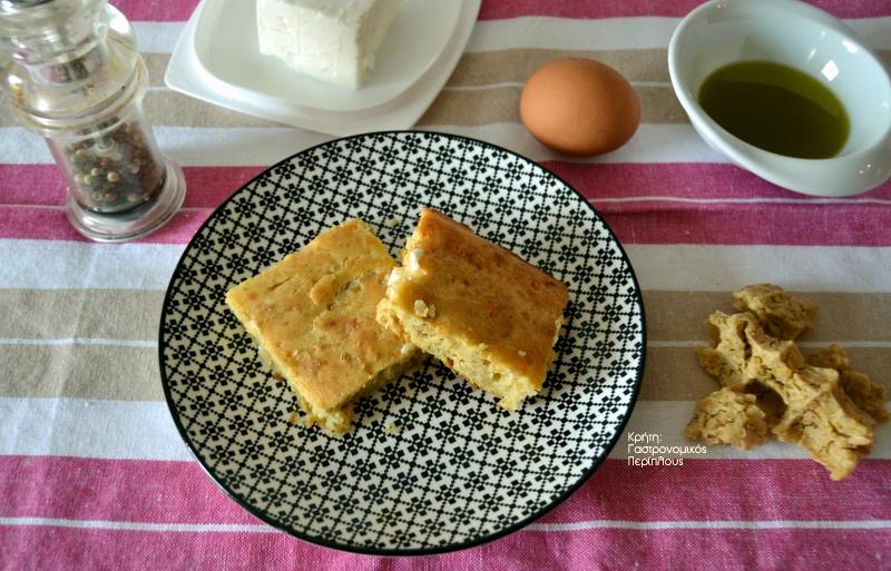 Ζυμαρόπιτα με ξινόχοντρο ή τραχανά