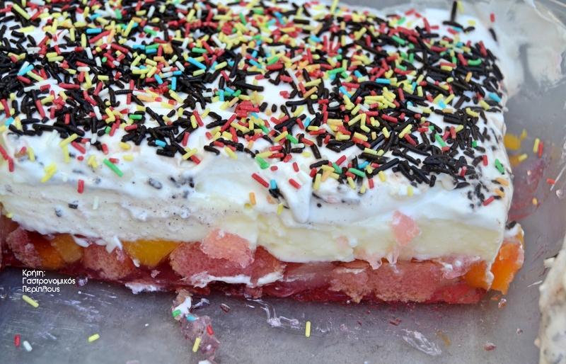 Γλυκό ψυγείου με ζελέ, εύκολο και ελαφρύ! (VIDEO)