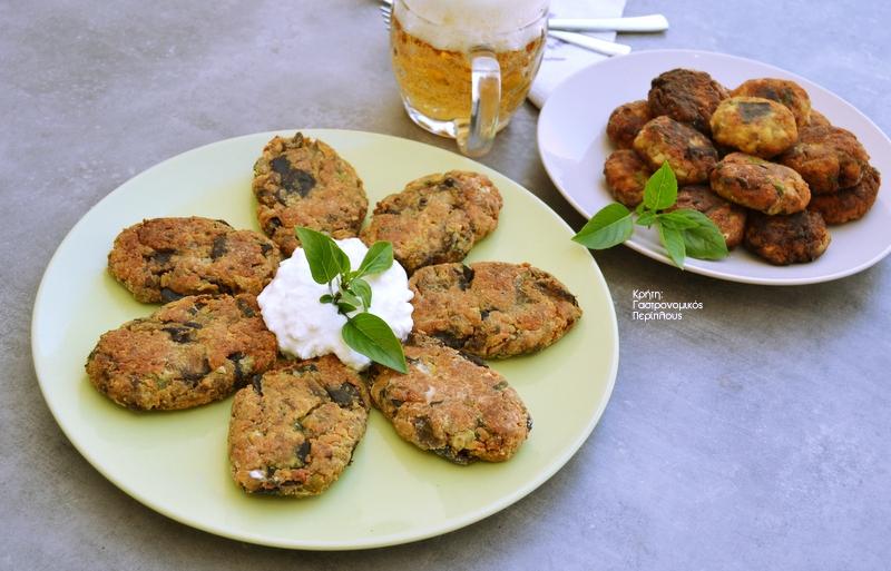 Μελιτζανοκεφτέδες στον φούρνο ή στο τηγάνι (VIDEO)