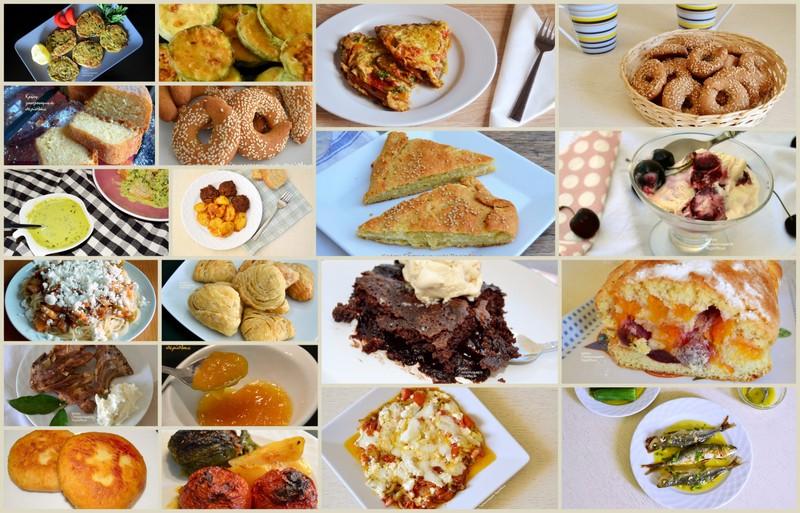 Οι δημοφιλείς συνταγές του Ιουλίου
