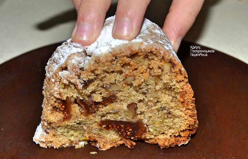 Κέικ με πράσινο κολοκύθι,πανεύκολο και εντελώς vegan!