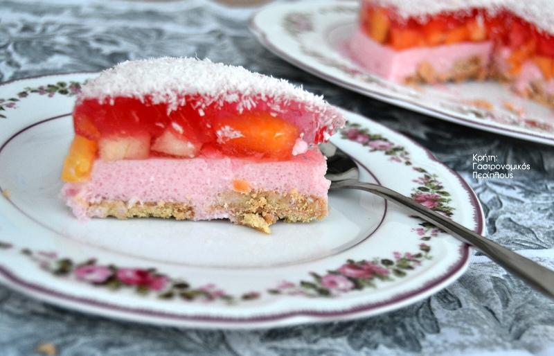 Εύκολη «τούρτα» ζελέ (VIDEO)